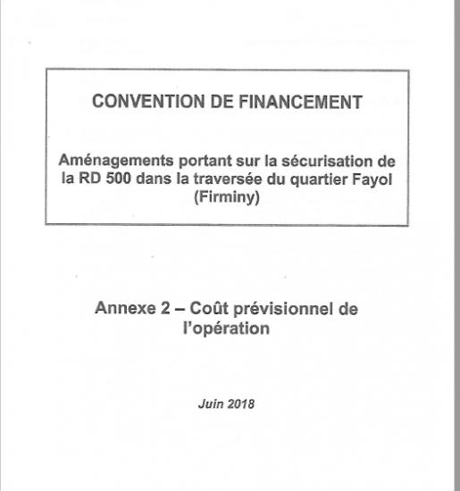 Convention de financement p1