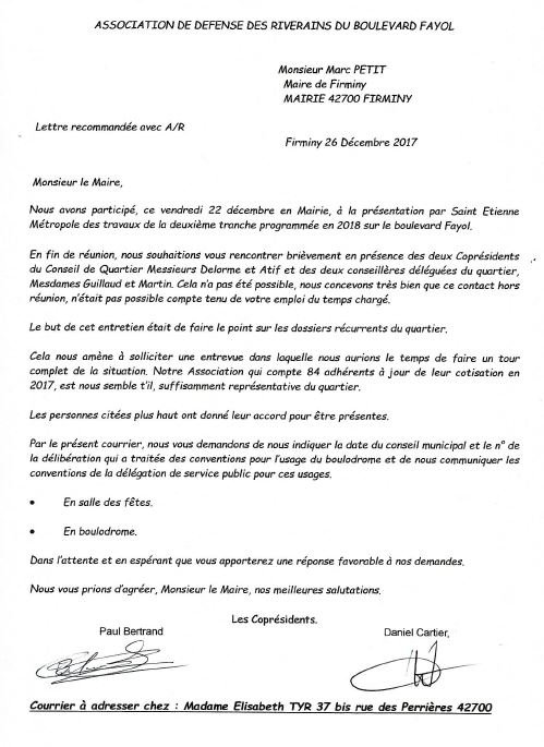 Courrier au maire 26 12 2017 site