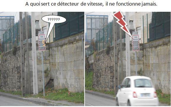Detecteur de vitesse