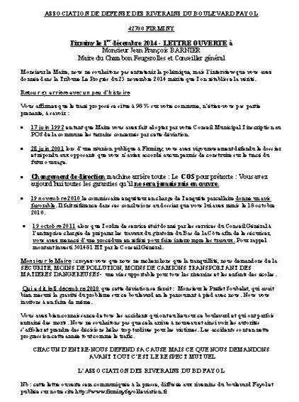 Lettre ouverte au maire du chambon flles 1 12 2014 pdf b