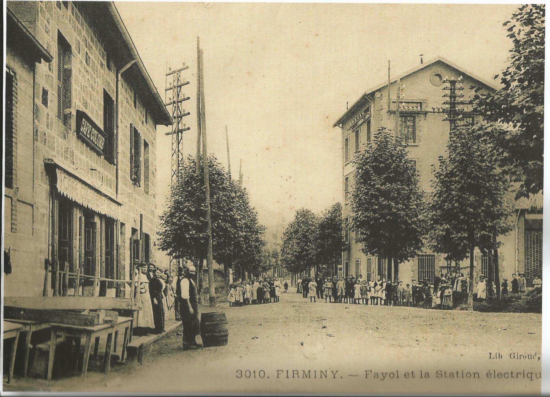 Station électrique à Fayol 1